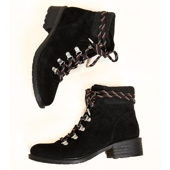 41e24676c0a15 NEW Sam Edelman Darrah Lace Up Combat Hiker Boots